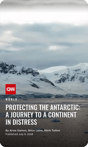Storypepper AMP Story Examples CNN Antarctic